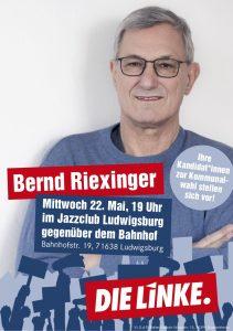 22. Mai: Bernd Riexinger in Ludwigsburg